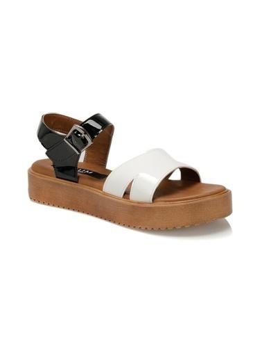 Kuum Sandalet Beyaz